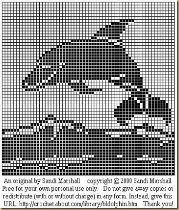 Dolphin knitting pattern free yaasfo for filet crochet dolphin patterns crochet dolphin knitting pattern free dt1010fo