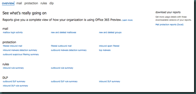 Office 365 - Reports