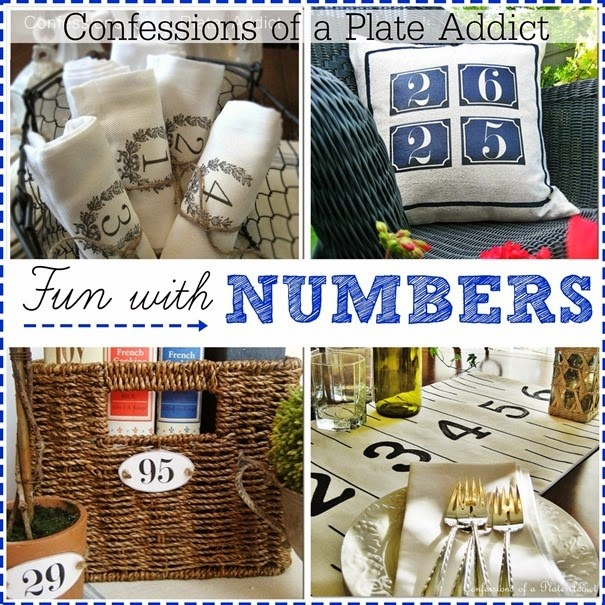 CONFESSIONS OF A PLATE ADDICT Fun with Numbers