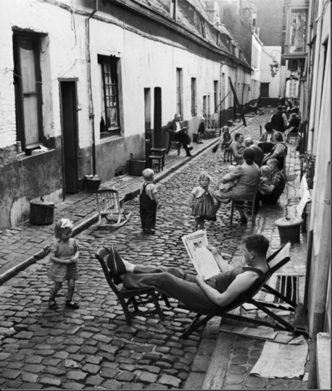 Aart Klein-The Gang Zwan/De Zwanegang, Antwerpen, Belgium, 1949.