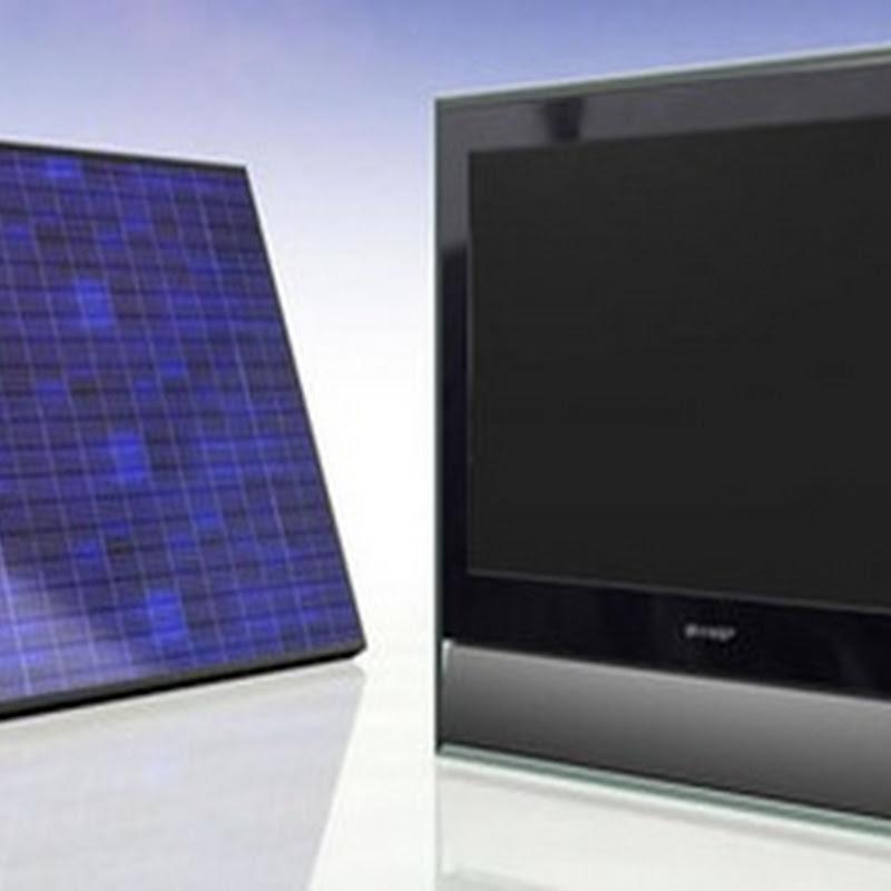Donan 2.730 televisores que funciona a base de energía solar
