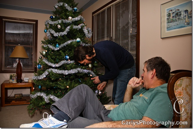 Christmas tree decorating-4