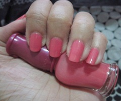 etude house nail polish with jelly pop top coat swatch, bitsandtreats