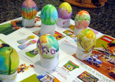 Blown Eggs and Watercolors