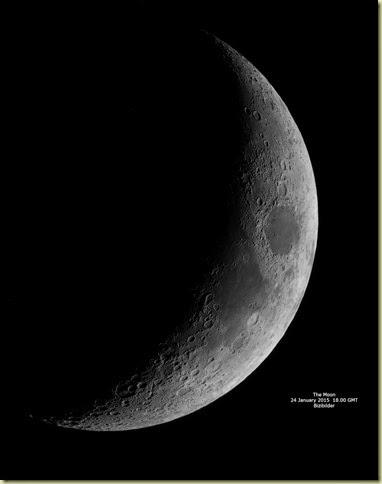 24 January 2015 Moon