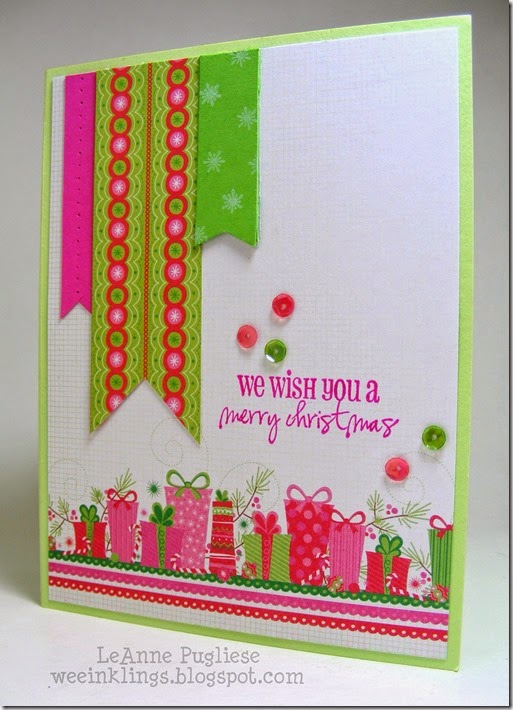 LeAnne Pugliese WeeInklings Merry Monday 129 Neon Christmas