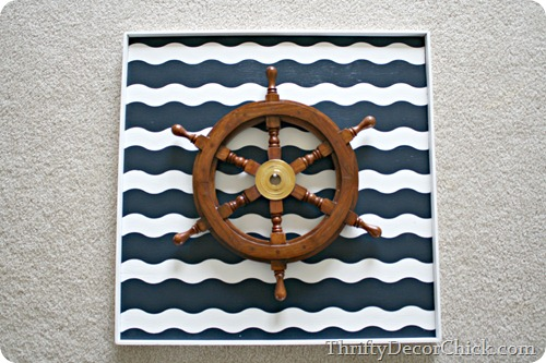 nautical art wave painter's tape