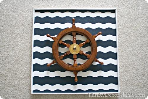 nautical art wave painter's tape