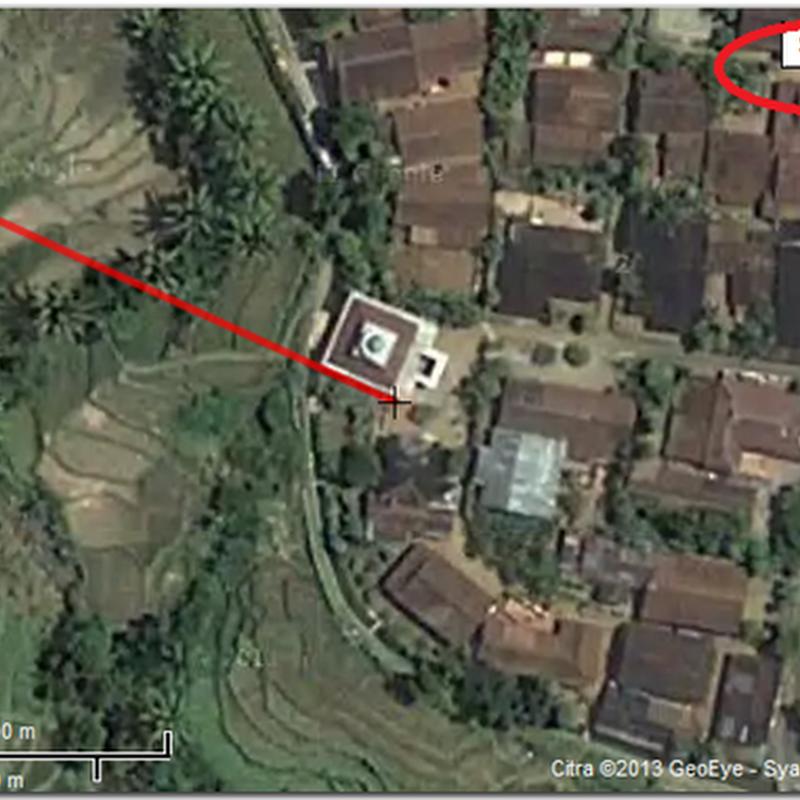 Menentukan Arah Kiblat dengan Google Maps