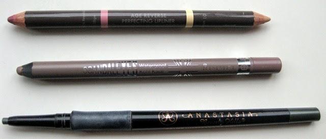 Studio10-Lip-Definer,Rimmel-taupe-eyeliner,Anastasia-Covet-Eyeliner