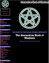 The Alexandrian Book Of Shadows