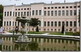 Le palais comprend deux parties: les appartements impériaux officiels (selamlik) et les appartements privés (haremlik).