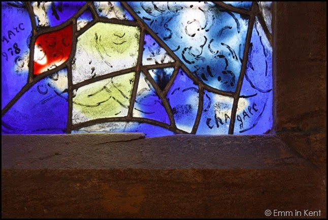 Chagall's Signature in Glass