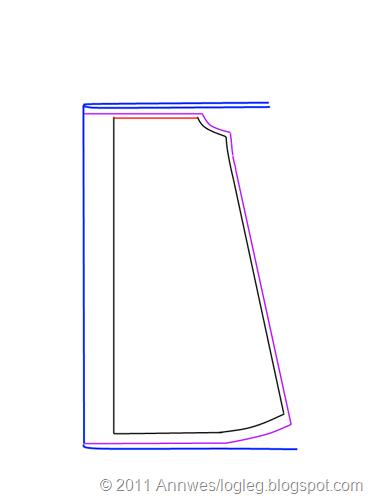 A_form med berestykke_auka breidde_klippe
