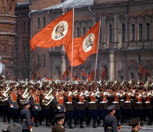 Парад 1 мая 1960 года.