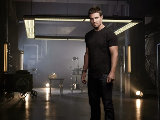 Stephen Amell as Oliver Queen 2