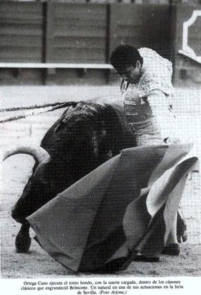 Ortega Cano 1987. Canon belmontista de Vidal 002