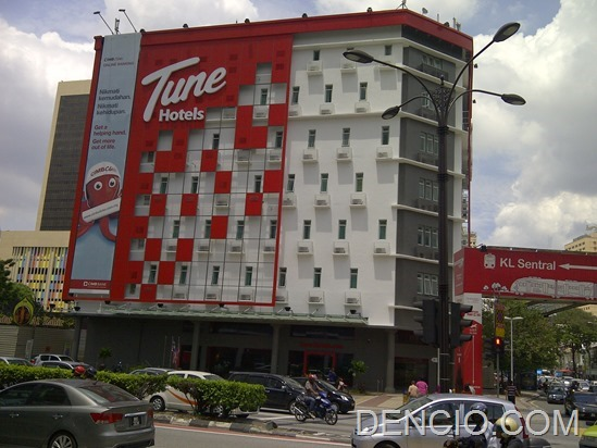 Tune Hotels Downtown KL4