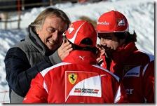 Montezemolo, Massa e Alonso a Madonna di Campiglio