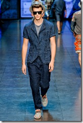 D&G Menswear Spring Summer 2012 Collection Photo 33