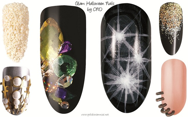 CND Halloween Nail Art1