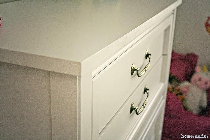 White Dresser Closeup