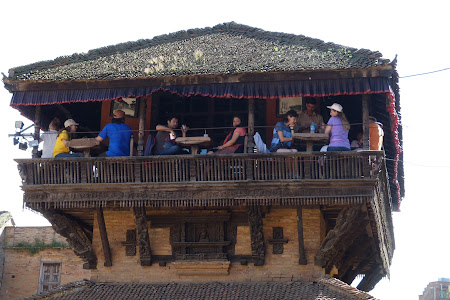 Roof top restaurant Bhakatpur