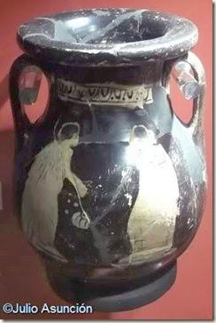 Pélike de cerámica ática de Cabezo Lucero - Guardamar dle Segura
