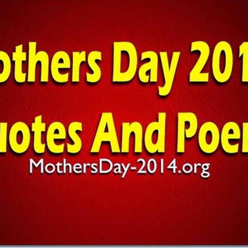 Mothers Day 2016 Quotes And Poems # Best