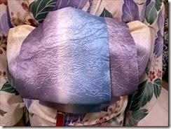 五日市シダックスの着物着付け教室で半巾帯を (3)