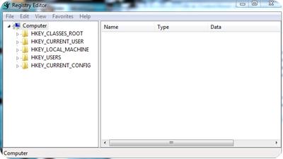 Mengakses Fasilitas Registry Editor pada Windows 7