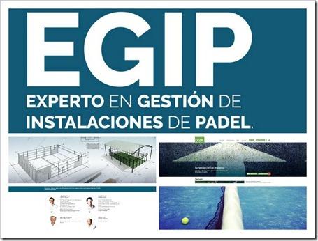 EGIP Curso Experto en Gestión de Instalaciones de Pádel online.