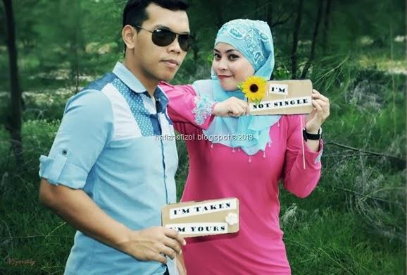 Photoshoot Pre-Wedding Cik Azie & Encik Mimpi