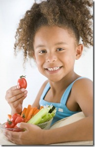 healthy vegetarian children