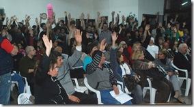 Segunda asamblea del Presupuesto Participativo en San Clemente del Tuyú