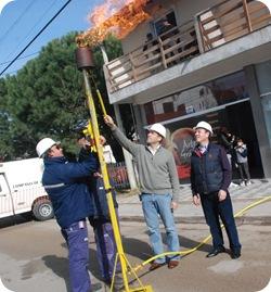 Las obras de gas no se van a detener hasta que todos los vecinos puedan contar con el servicio, dijo Juan Pablo de Jesús