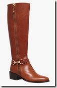Carvela Tan Leather Knee High Riding Boots