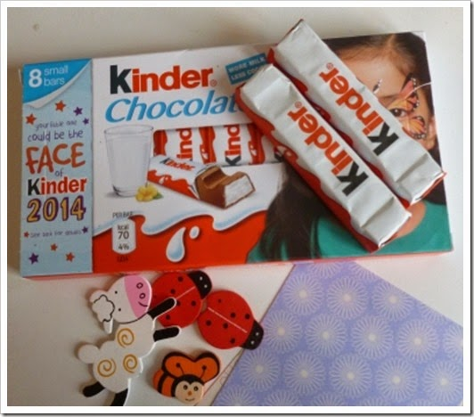 Kinder Chocolate First Day Back At Work Fairings