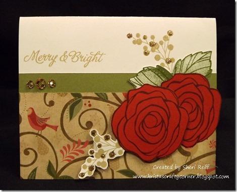 Sheri Reiffs Christmas Card- love blooms