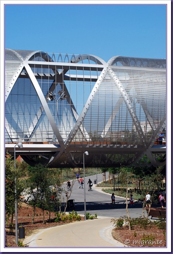 puente monumental de arganzuela - sobre sendas
