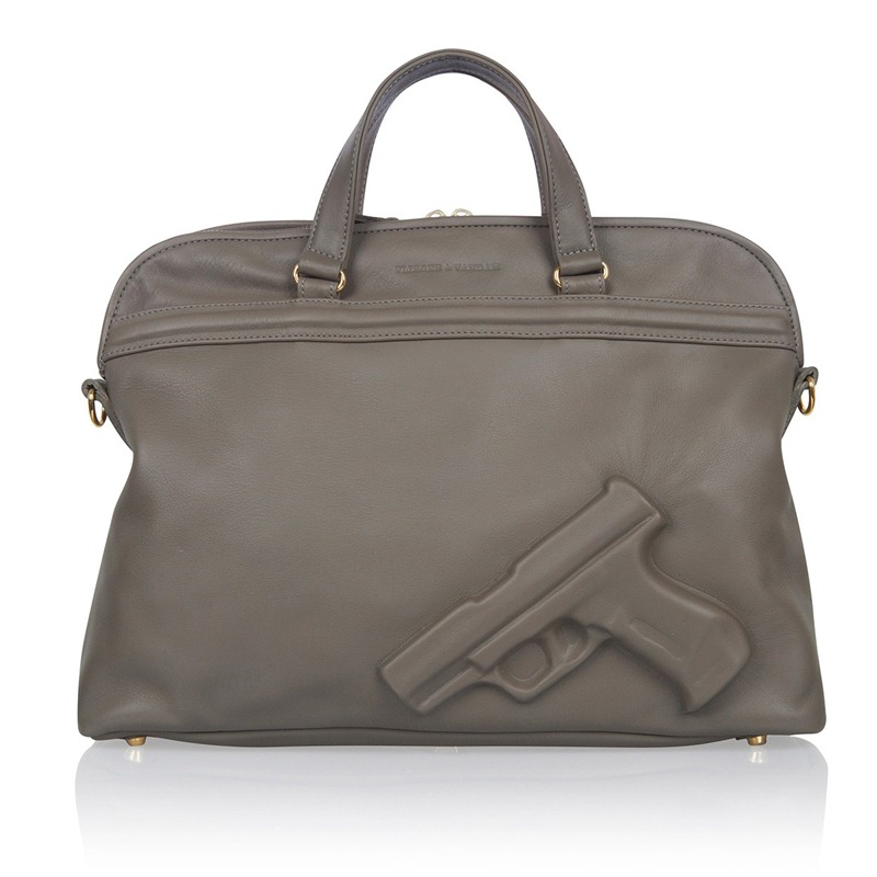 Soft Large Gun Grey, Vlieger & Vandam, Guardian Angel, Guardian Angel Bags, V & V, Bag