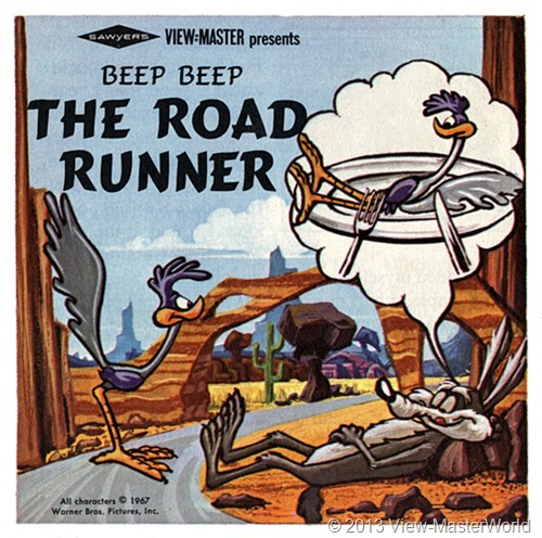 View-Master Beep Beep The Road Runner (B538), Booklet Cover