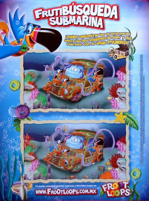 Froot Loops Búsqueda marina