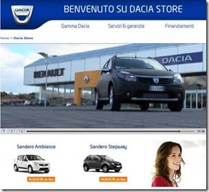 Dacia Store online 01