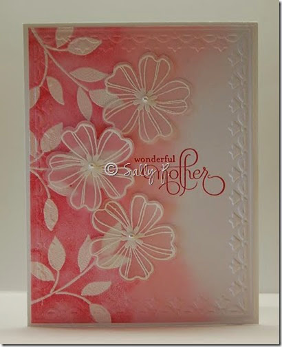 Sally's card