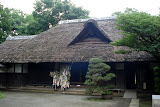 A 19th century farmhouse in the Edo-Tokyo Open Air Museum