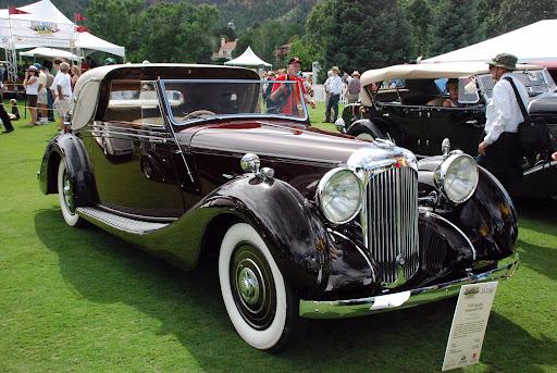 1938 Lagonda Sedanca de Ville