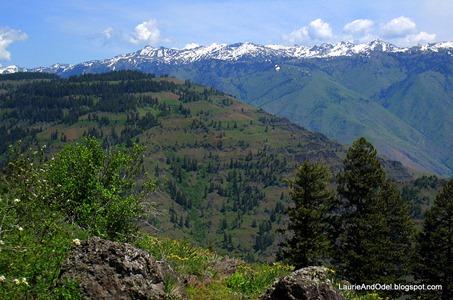 Seven Devils Mountains in Idaho