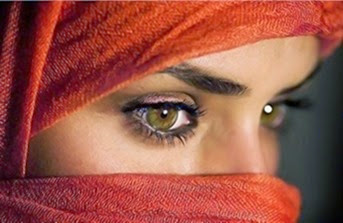 olhos âmbar amarelos