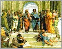 A História da Escola- A Escola de Atenas Rafael 1508